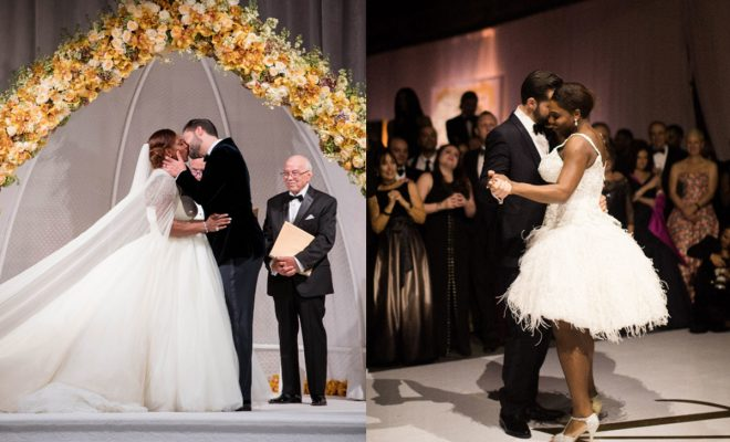 Serena Williams And Alexis Ohanian Exchanged Wedding Vows