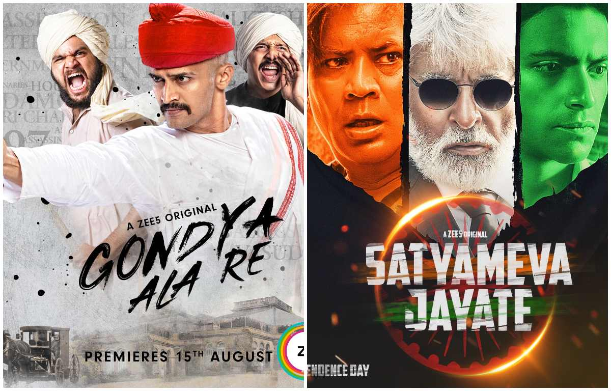 Zee5 Curates & Creates Special Content This Independence Day